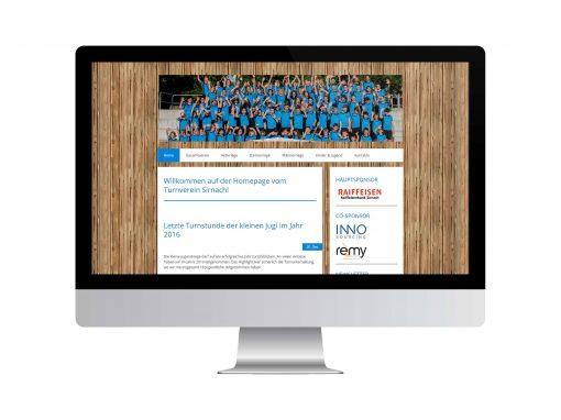 TV Sirnach Webseite